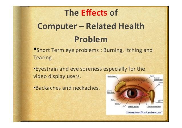 The Effects Of Computer - Related Health Problem